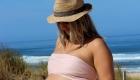 une grossesse à la plage