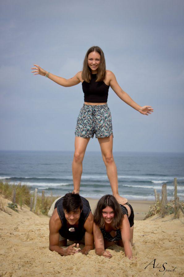 enfants acrobates