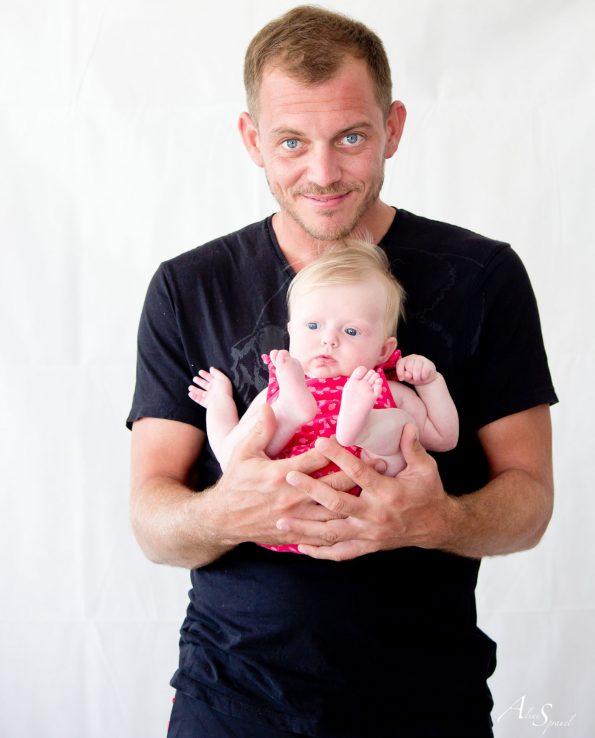 un papa et sa fille