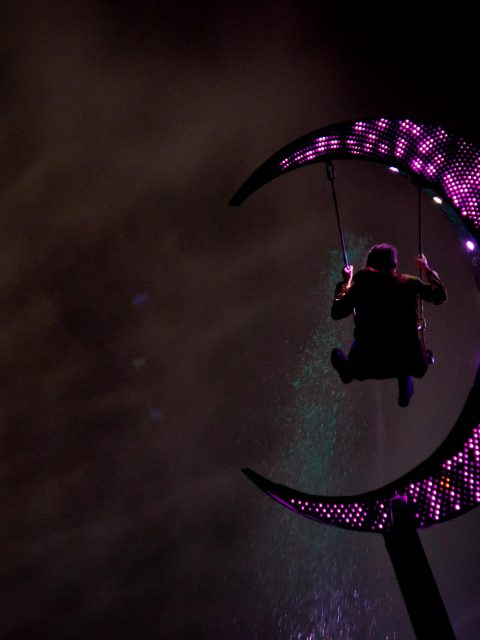 lune spectacle nocturne