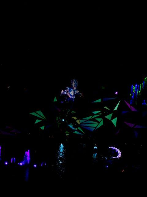 spectacle de nuit futuroscope