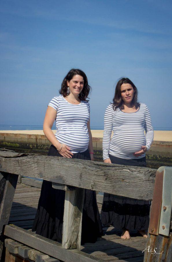 deux futures mamans