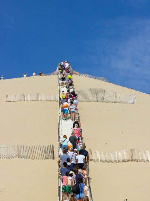 escalier dune du pilat