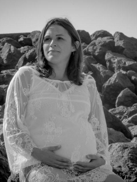 grossesse sur les rochers