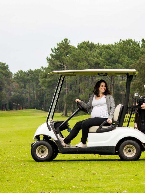 voiturette golf grossesse