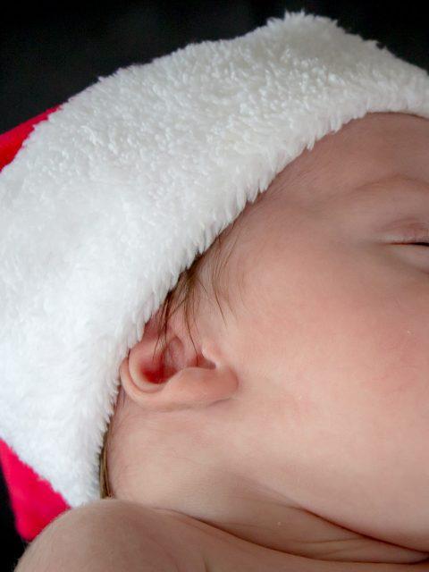 bonnet pere noel bebe