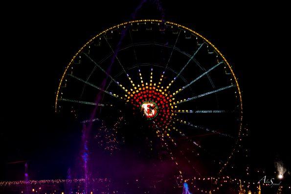 grande roue de nuit