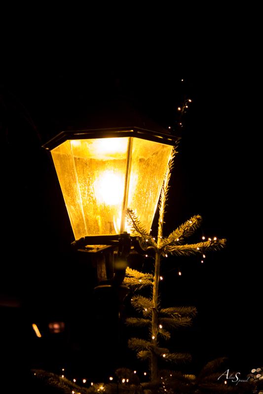 lampadaire noel