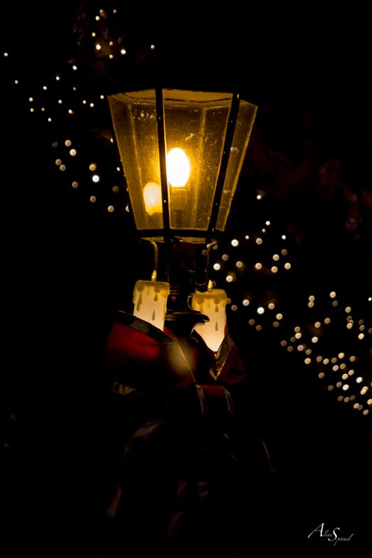lampadaire rust