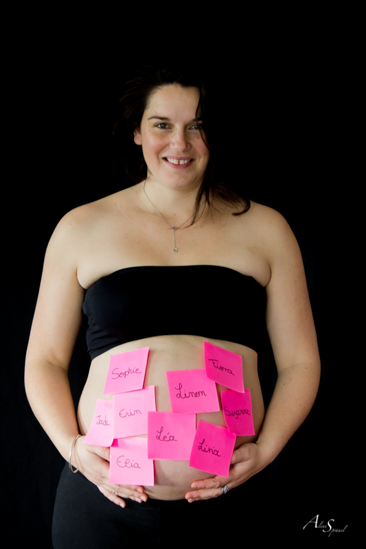 post it ventre grossesse