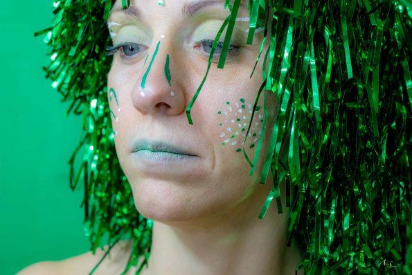 visage vert