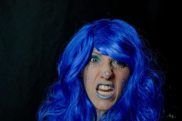 grimace femme maquillage