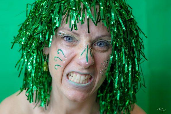 grimace vert
