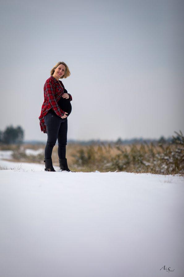grossesse dans la neige