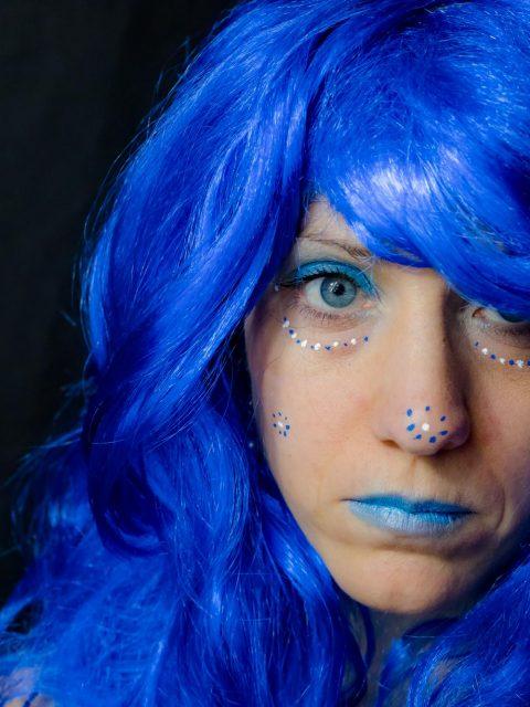 photo mode bleu