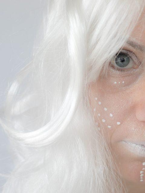 maquillage blanc