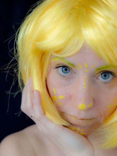 déguisement jaune