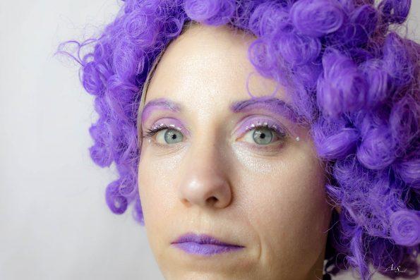 visage violet
