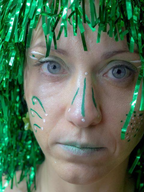 portrait photographe vert