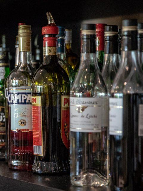 bouteilles alcool