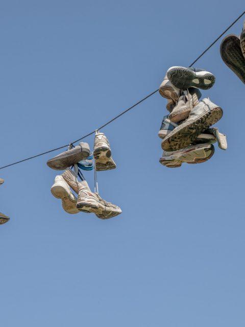 chaussures fils
