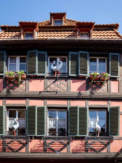 maison décorée alsacienne