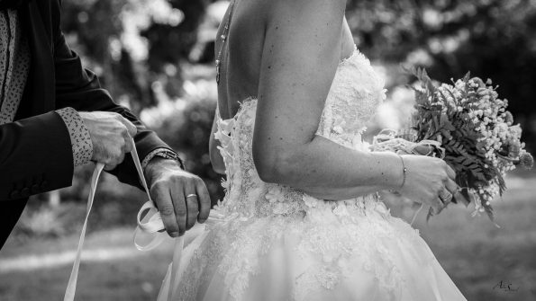lacage robe mariée