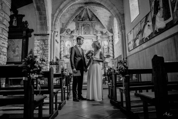 mariage église landes
