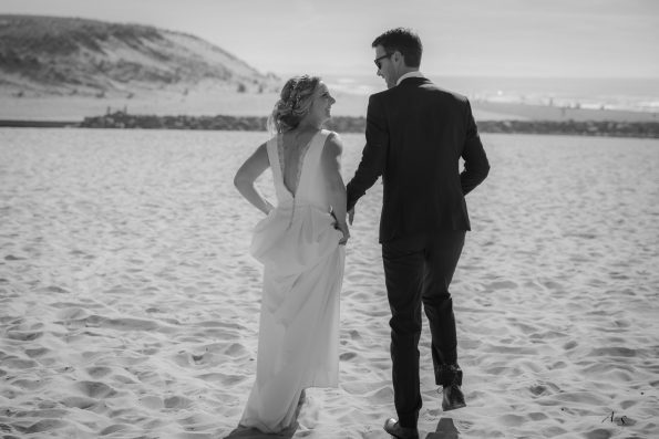 mariage sable plage