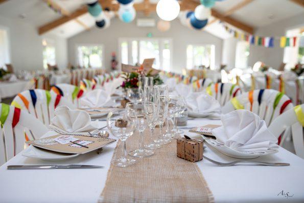 deco de table mariage voyage