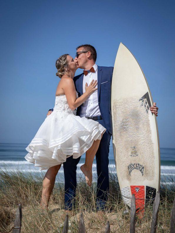 mariage surf