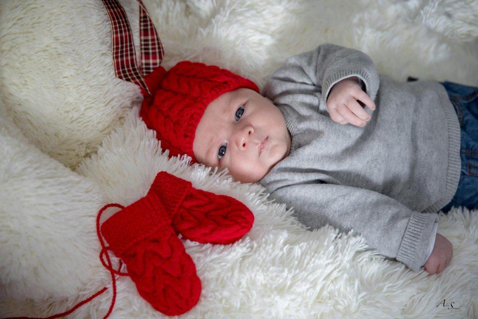 bonnet laine nouveau né