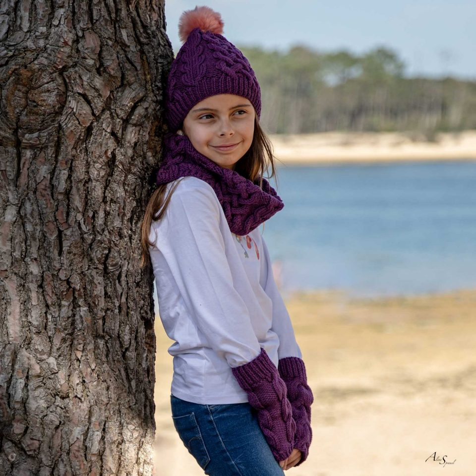 ensemble tricot fille