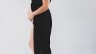robe voile grossesse noir