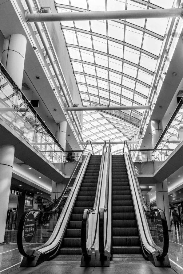 escalator Mériadeck