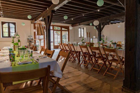 salle mariage décorée