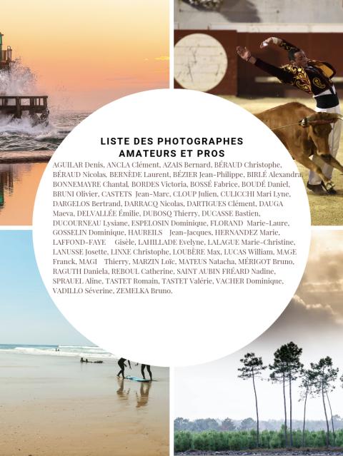 livre les landes en 500 photos