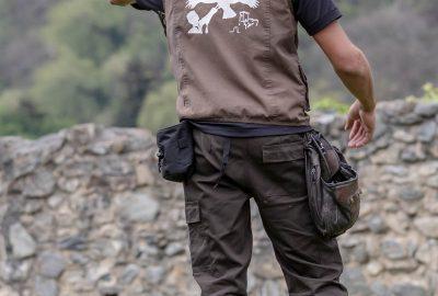 Visite du donjon des Aigles dans les Pyrénées
