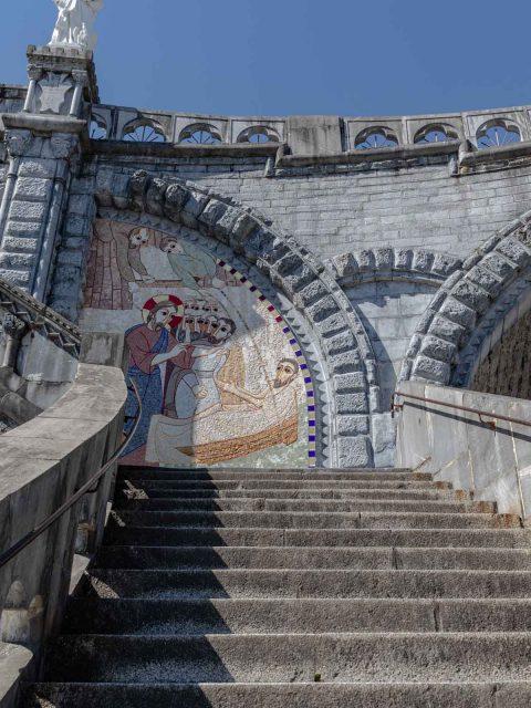 escalier lourdes