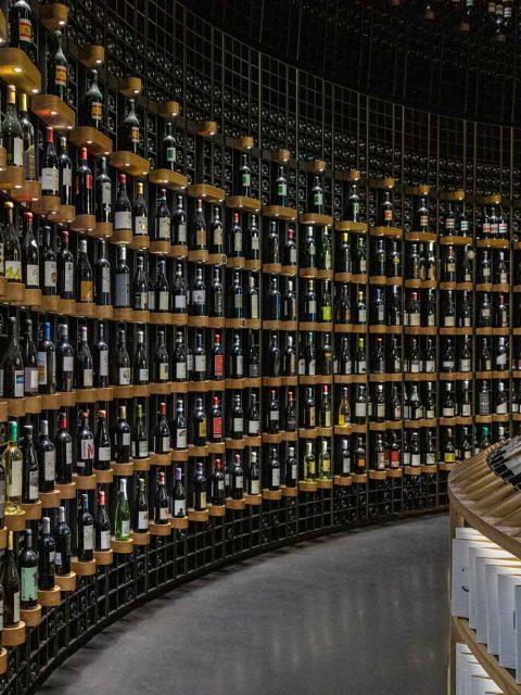 présentoir cite du vin bordeaux