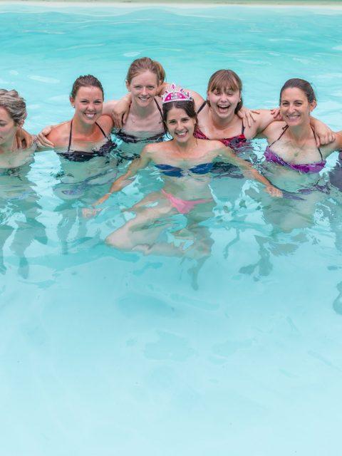 EVJF piscine