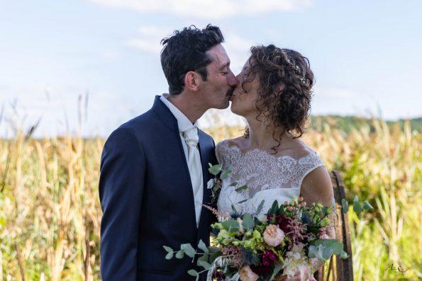 bisous mariage