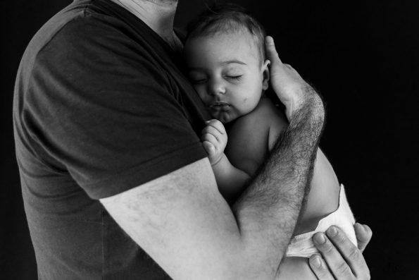 bebe contre papa