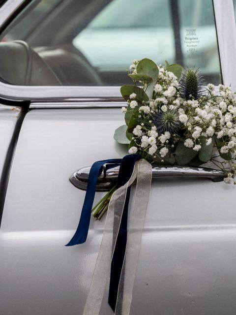 bouquet voiture
