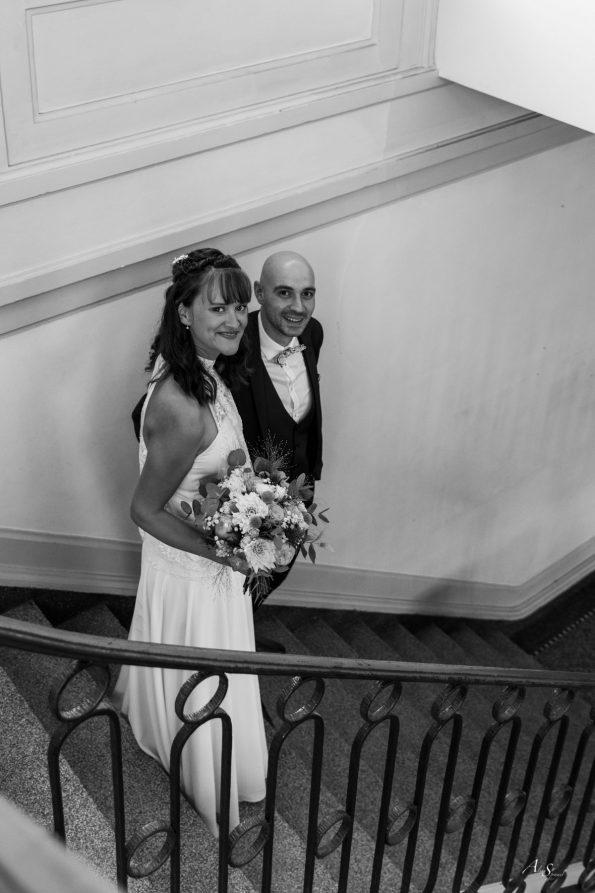 escalier mariage