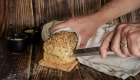 photographie culinaire pain couper
