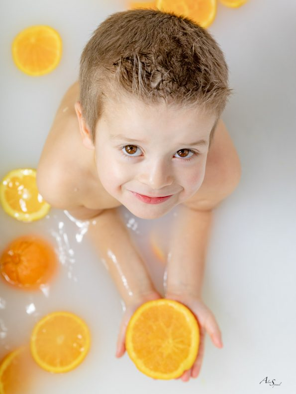 bain aux oranges