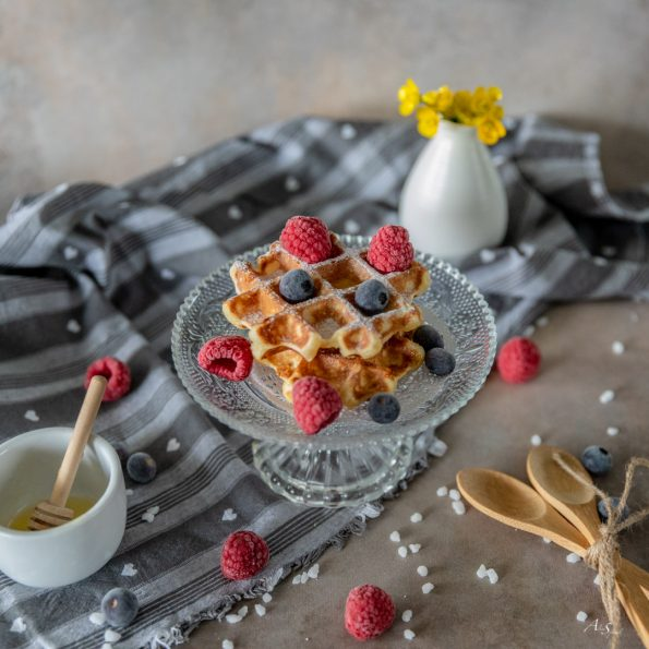 gaufre-fruits-rouge