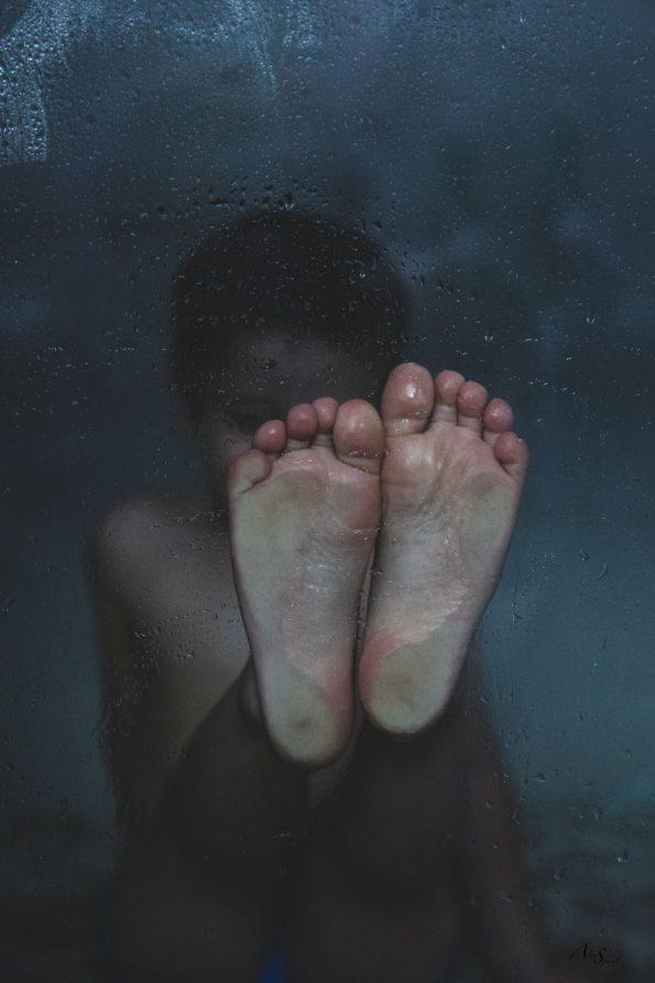pieds-douche