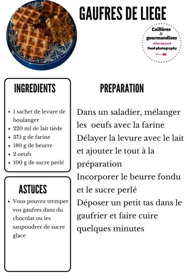 recette gaufres de liege cuilleres et gourmandises